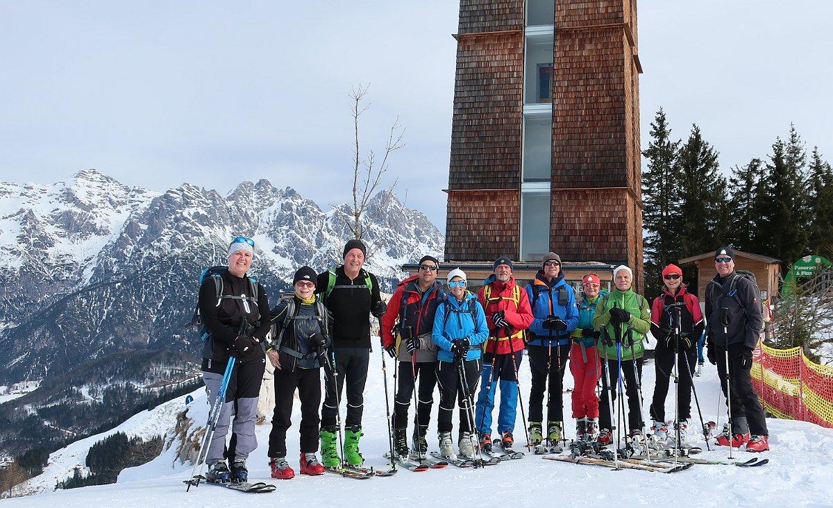 Skitour auf die Buchensteinwand