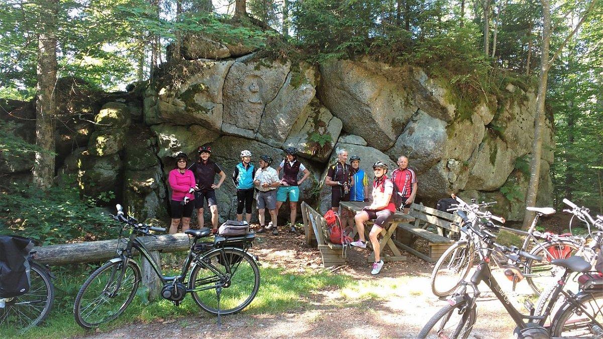 Radtour zur Elendbachschwelle in Böhmen