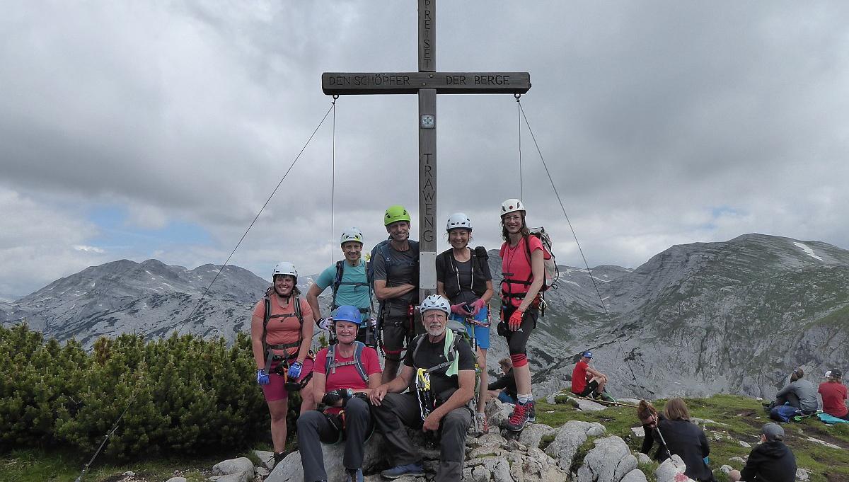 """Ortsgruppe am Klettersteig """"Gamsblick"""""""