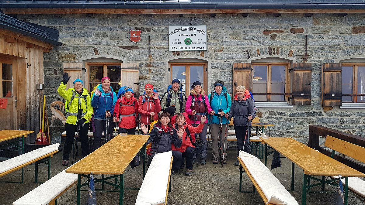 Alpenüberquerung E5 von Madau/Lechtal nach Meran