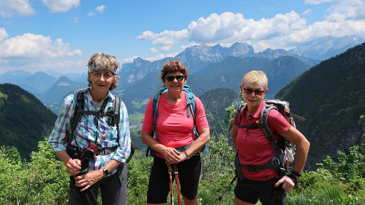 1. Vorbereitende Bergtour der Ortsgruppe Freyung