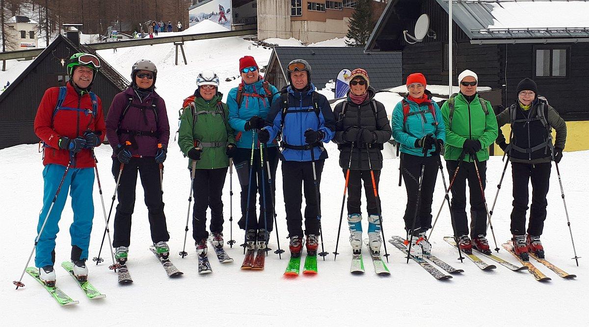 Skitour auf die Wurzeralm